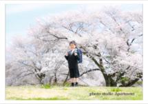 入園、入学記念撮影/栃木県宇都宮市のフォトスタジオアパートメント/写真館