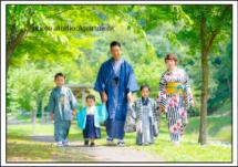 七五三/栃木県宇都宮市のフォトスタジオアパートメント/写真館