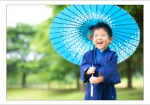 七五三前撮り/栃木県宇都宮市のフォトスタジオアパートメント/写真館