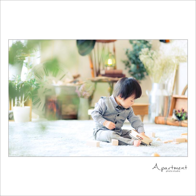 バースデーフォト:栃木県宇都宮市のフォトスタジオアパートメント:写真館16