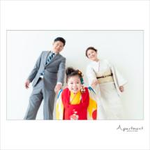 七五三記念撮影/栃木県宇都宮市のフォトスタジオアパートメント/写真館