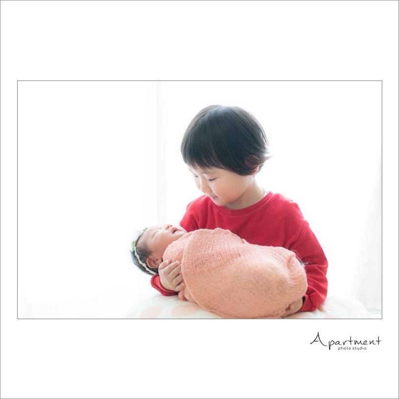 ニューボーンフォト:栃木県宇都宮市のフォトスタジオアパートメント:写真館16