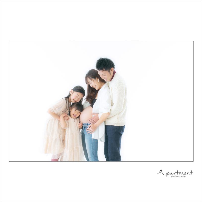 マタニティフォト:栃木県宇都宮市のフォトスタジオアパートメント:写真館