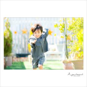 入園記念撮影/栃木県宇都宮市のフォトスタジオアパートメント/写真館