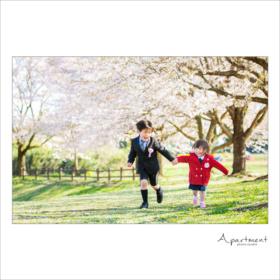 入学記念撮影/栃木県宇都宮市のフォトスタジオアパートメント/写真館