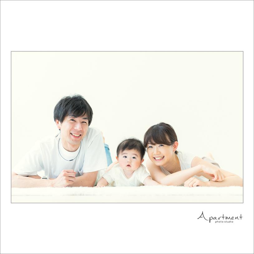 ハーフバースデーフォト:栃木県宇都宮市のフォトスタジオアパートメント:写真館16
