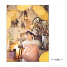 バースデーフォト:栃木県宇都宮市のフォトスタジオアパートメント:写真館