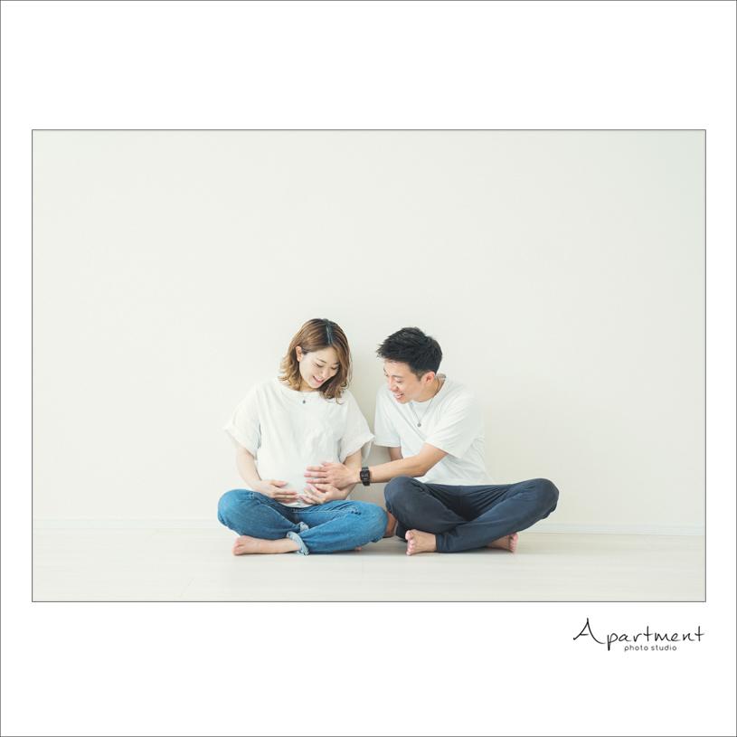 マタニティフォト/栃木県宇都宮市のフォトスタジオアパートメント/写真館